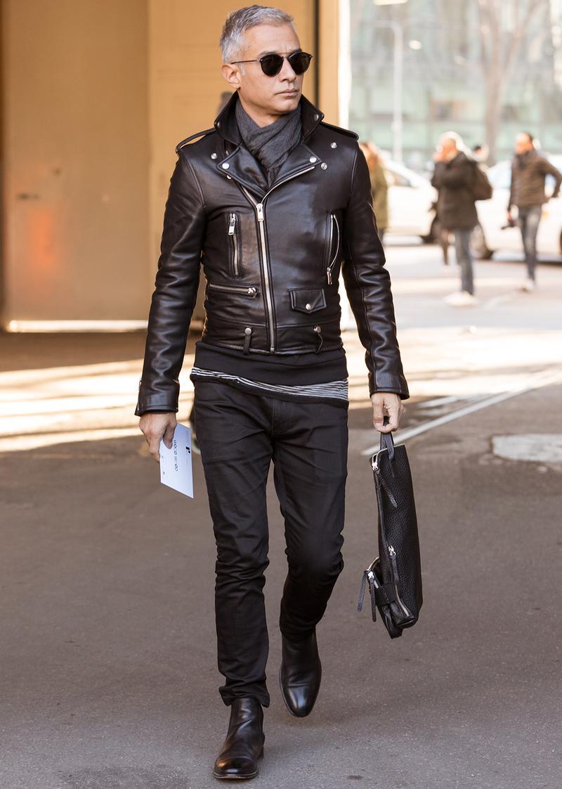 都会的にライダースを着る、王道スタイルはコチラ ...