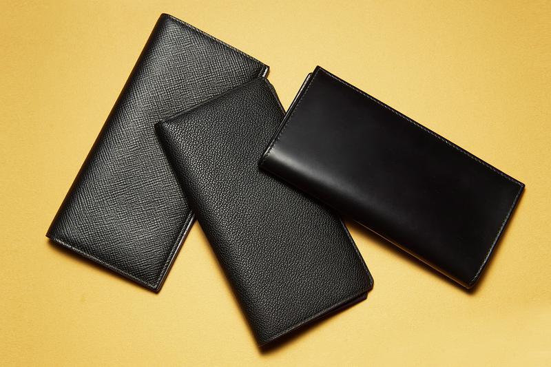 909356be0adc おさらい】財布は薄マチの黒レザー2つ折りが再熱 | アイテム | LEON ...
