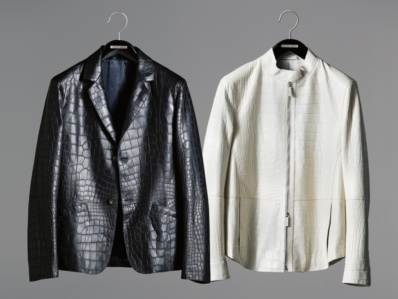 【注目】 「ジョルジオ アルマーニ」の2000万円超え! クロコジャケット&ブルゾンの投資価値とは!? | メンズファッション | LEON レオン オフィシャルWebサイト
