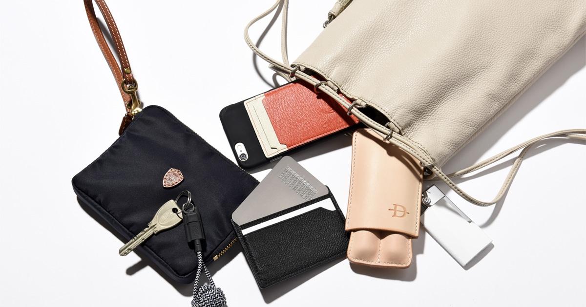 まさに名脇役! 鞄に入れておきたい便利でお洒落な大人のコモノ | アイテム | LEON レオン オフィシャルWebサイト