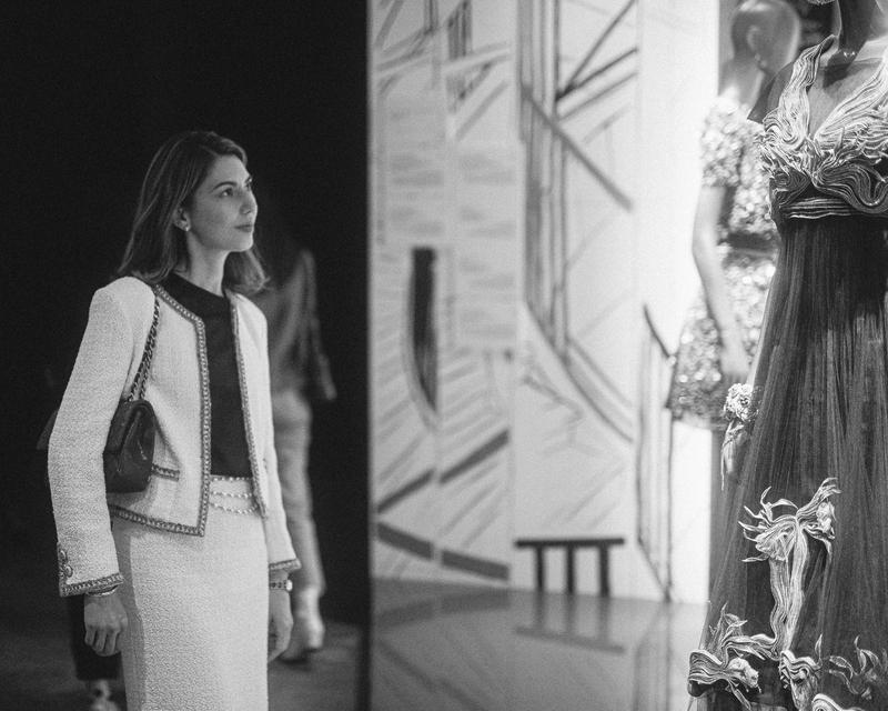 マドモアゼル プリヴェ展 , ガブリエル シャネルの世界へ』に私